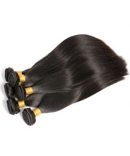 Straight Virgin Human Hair Bundles